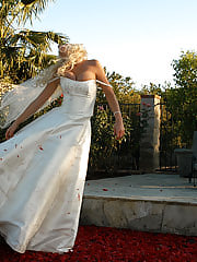 OfficesexTanya gets recessitated by pussy licking and gets enough strength to tear a cock up after falling in the pool in her wedding dress.