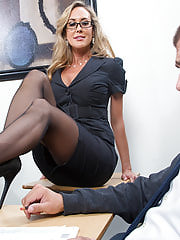 Office Sex, Brandi Love was my personal Earliest Fuck Teacher