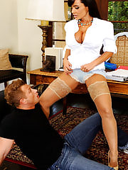 Secretary Sex, Lisa Ann is my Primarily Intimate Tutor