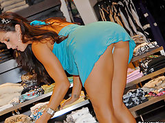 Sexy francesca gets her milf ass picked up at the shoe store in these hot sexy fucking pics